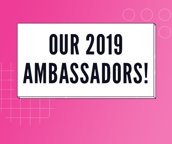 Yamin Choudury, Nadia Fall & Michelle Terry announced as 2019 Ambassadors