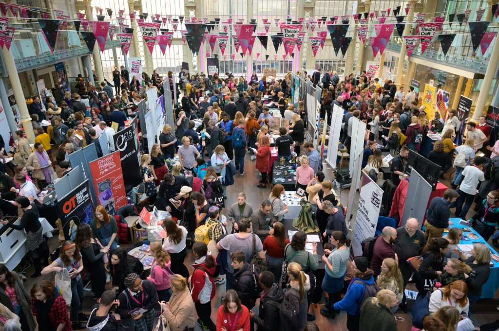 Image of the TheatreCraft marketplace at the Royal Opera House